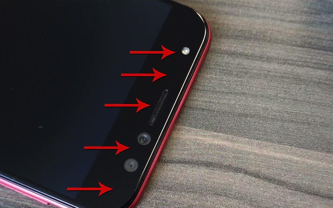 Zenfone 4 Selfie Pro itens frontais