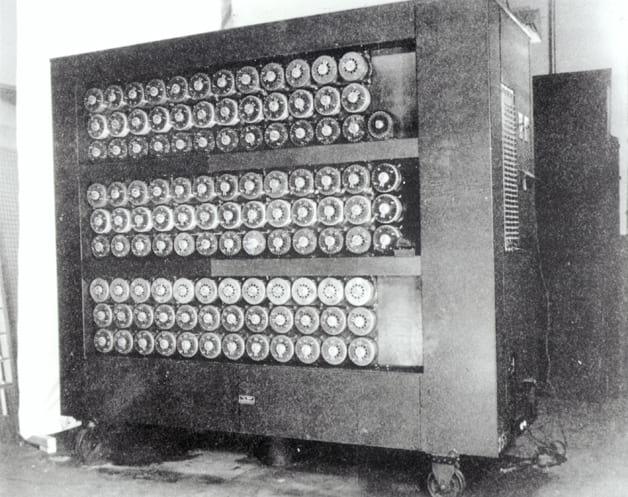 A máquina de Turing original