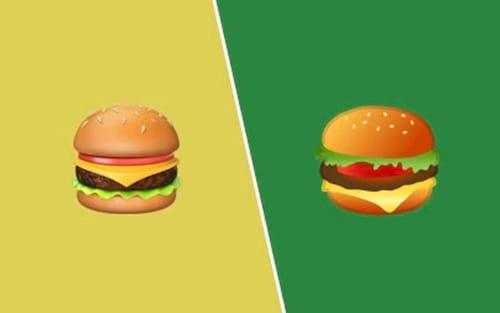 CEO da Google promete corrigir emoji do hambúrguer