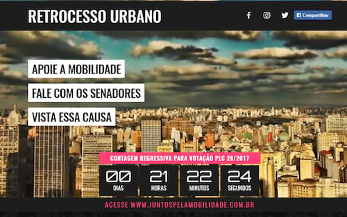 Projeto de lei complementar para o fim dos apps de mobilidade no Brasil será votado amanhã (31)