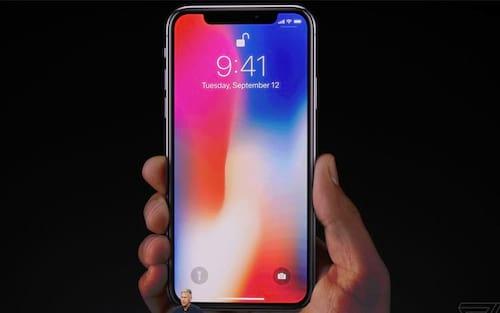 Apple nem chegou a testar biometria direto na tela do iPhone X