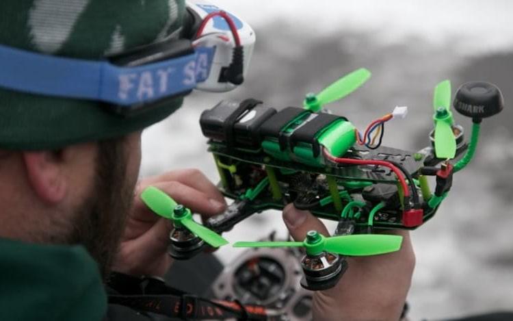 Primeiro campeonato mundial de drones irá acontecer em 2018.