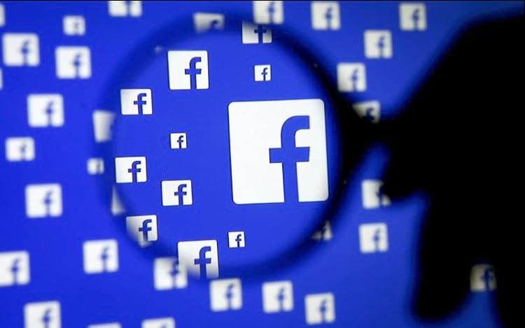 Facebook pede