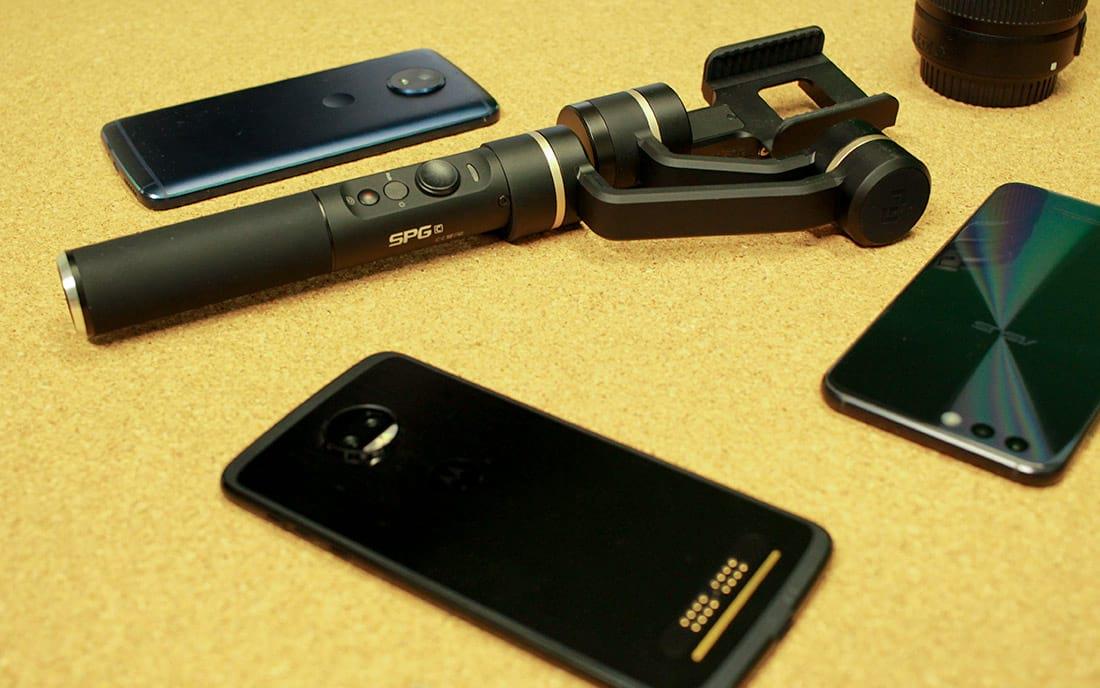 FeiyuTech SPGc - Review do estabilizador de imagens para smartphones