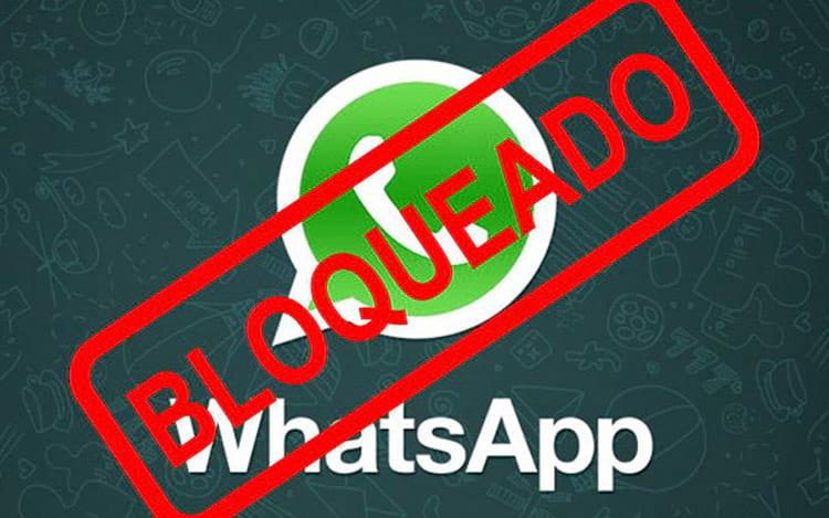 Indícios de bloqueio no WhatsApp