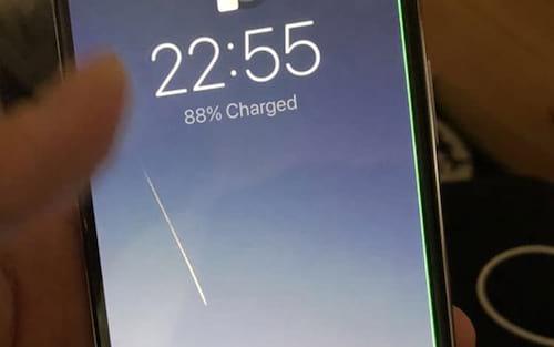 Algumas unidades do iPhone X estão apresentando uma linha verde na tela