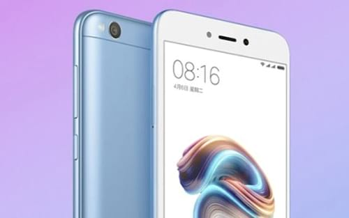 Xiaomi lança variante na cor azul do Redmi Note 5A