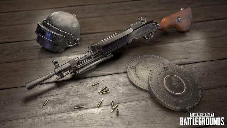 DP-28 nova arma PUBG