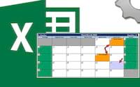 Calendário 2018 no Excel