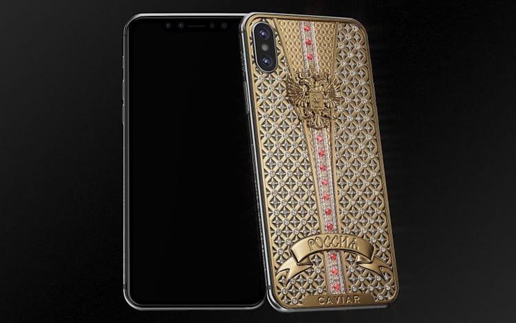 Empresa Russa lança versão de luxo do iPhone X