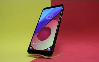 Review LG Q6+