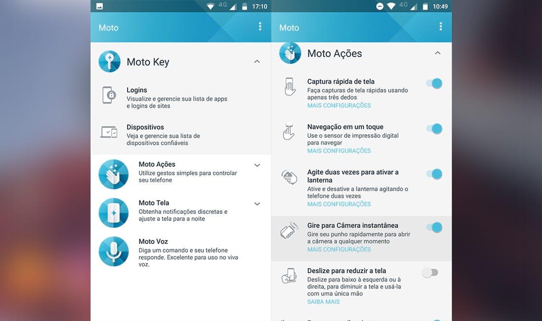 App Moto está ainda mais completo e cheio de opções