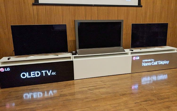 TVS OLED da LG