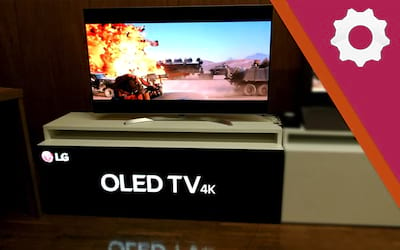 LAB TECH TV LG OLED