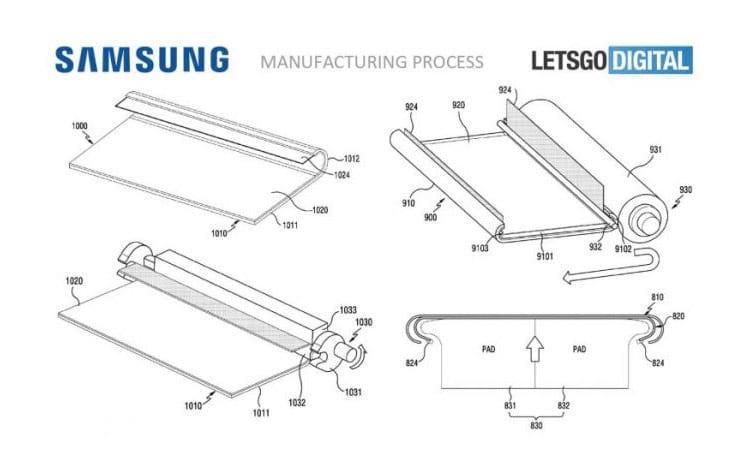 A fabricante sul-coreana registrou a patente da tecnologia de display com borda curva que segue até a parte traseira do dispositivo.