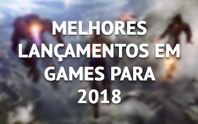 Os melhores jogos de 2018