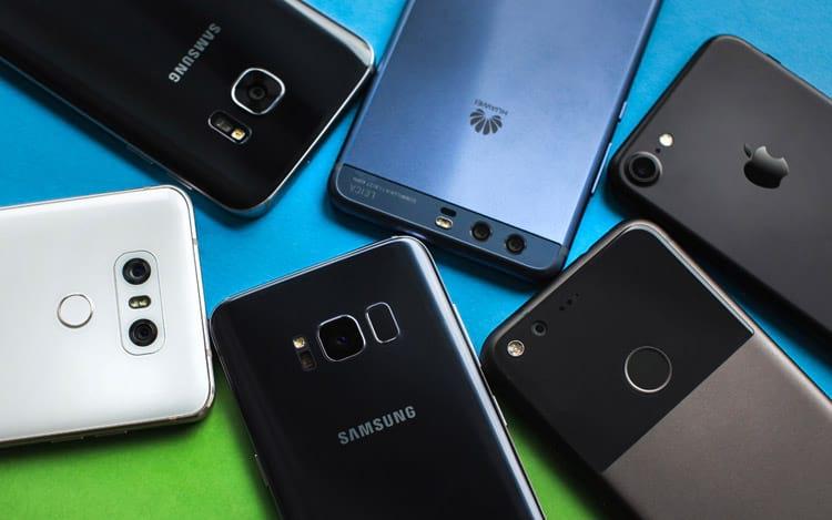 Vendas de smartphones foram 5% maiores na comparação com o terceiro trimestre de 2016