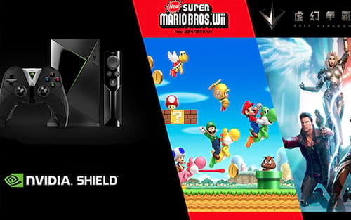 Parceria entre Nintendo e NVidia vai trazer games do Wii para o Shield na China