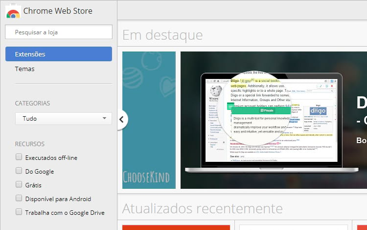 Google remove aplicativos instaláveis do Chrome