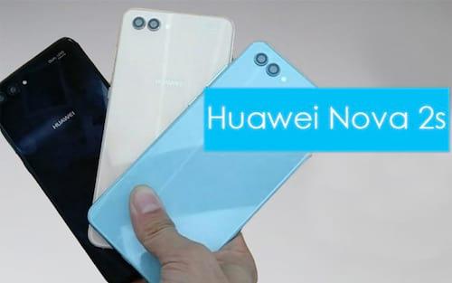 Huawei lança mais um: Nova 2S o intermediário Premium da marca.