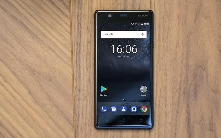 Nokia 3 começa a receber atualização.