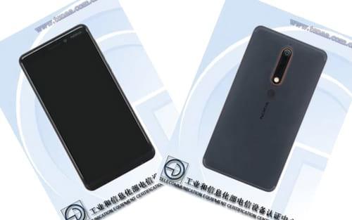 Nokia 6 (2018) com corpo de metal e quase sem bordas