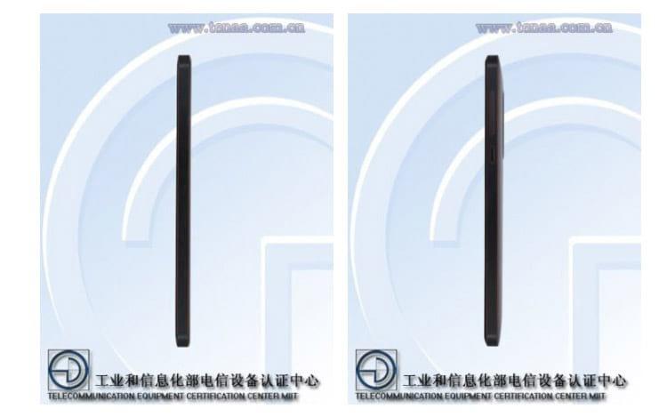 Lateral do smartphone a ser lançado pela HMD Global