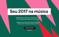 Spotify monta uma playlist com as suas músicas preferidas em 2017