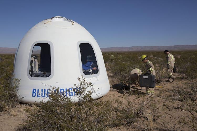 Cápsula que será utilizada no turismo espacial