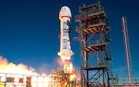 Blue Origin realiza lançamento após 1 ano longe dos testes