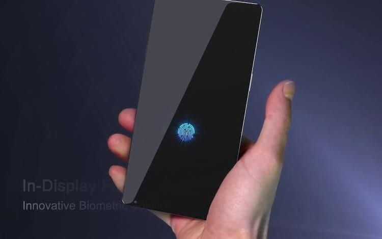 Empresa revela sensor digital que funciona sob tela de celular