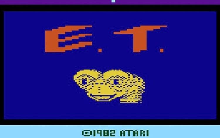 E.T. the Extra-Terrestrial, Atari 1982.