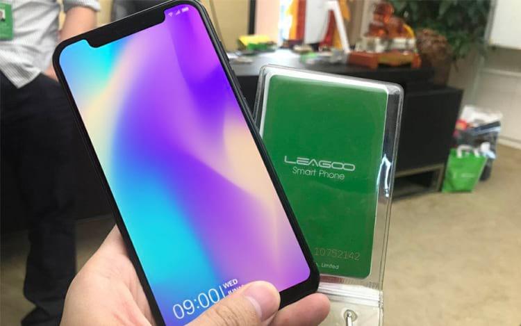 S9, aparelho de Leagoo.