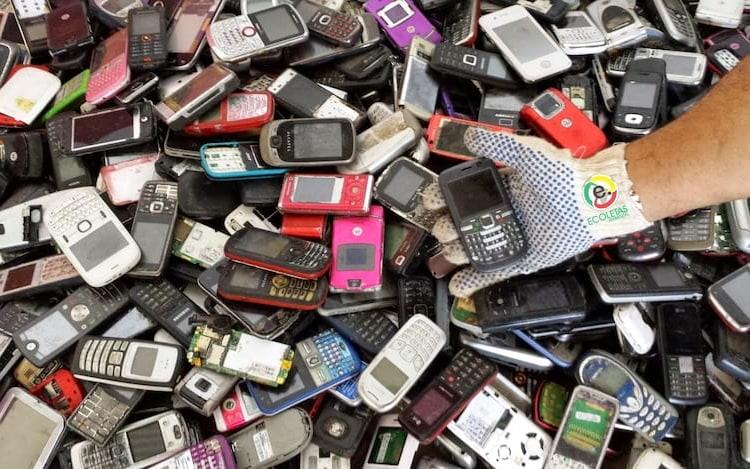 Somente 20% do lixo eletrônico no mundo é reciclado, diz estudo.