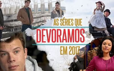 Séries mais maratonadas  na Netflix em 2017