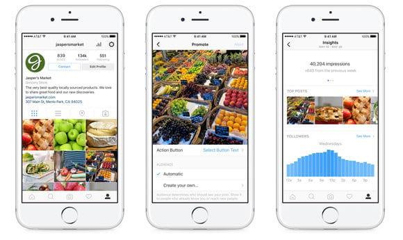 Instagram: converta seu perfil para negócio