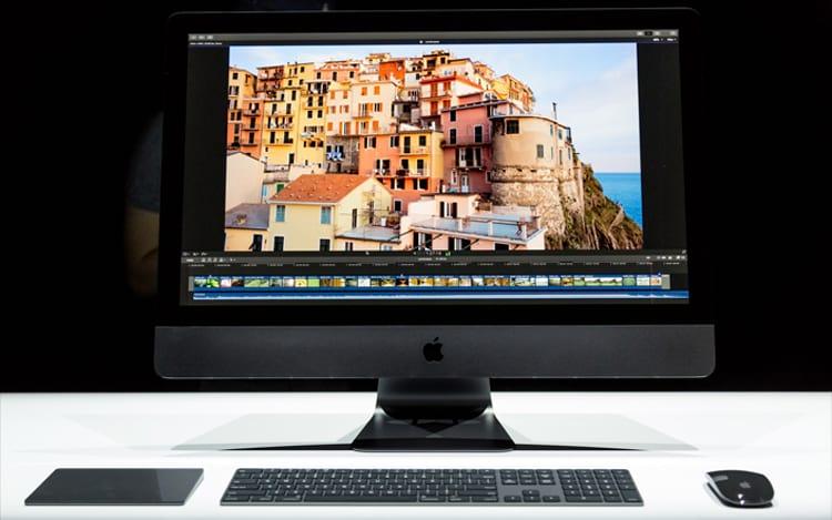 Foto apresentação iMac Pro.