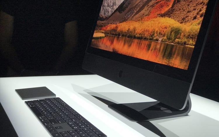 iMac Pro detalhes.