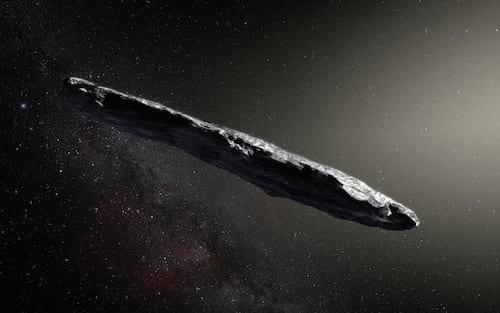 Astrônomos pretendem procurar alienígenas em asteroide de formato inusitado