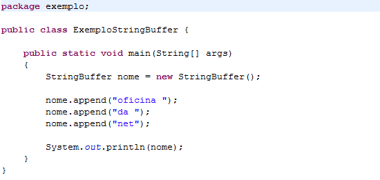 Java: Diferenças entre as classes String, StringBuffer e StringBuilder