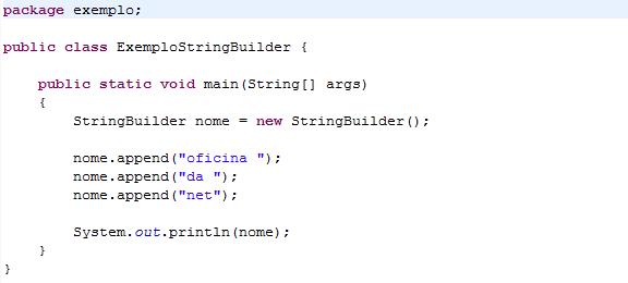 Java: Diferenças entre as classes String, StringBuffer e StringBuilder