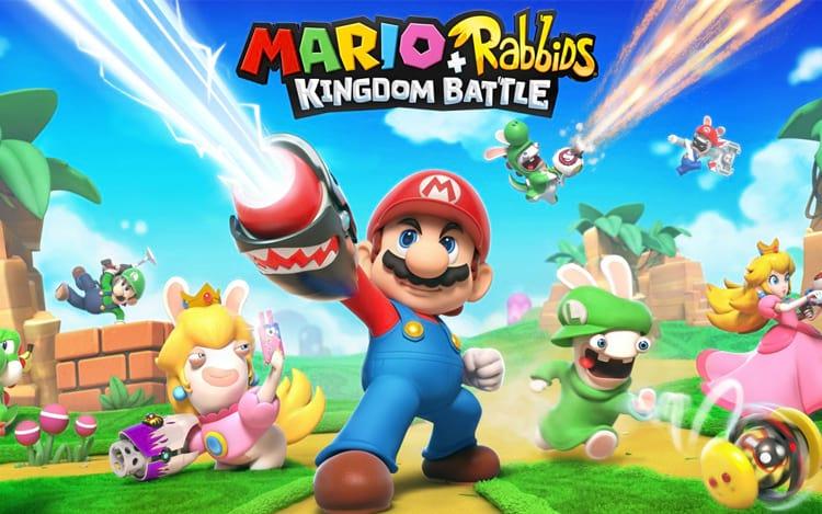 Mario + Rabbids Kingdom Battle é grande destaque nesta promoção.