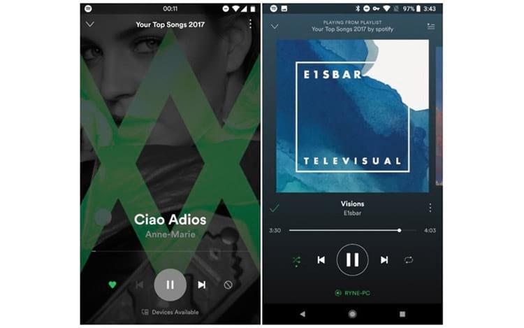 Spotify testa nova interface para Android