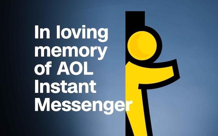Chega ao fim o AOL Instant Messenger.