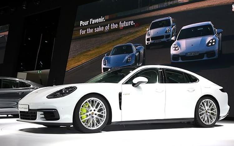 Porsche Panamera 4 E-Hybrid.