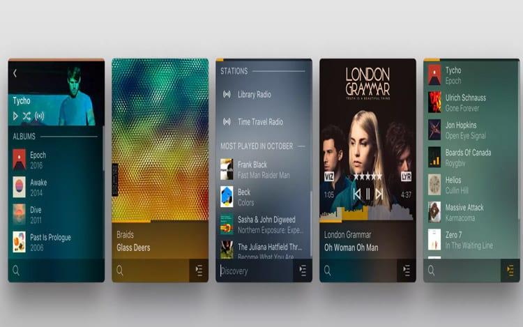 Plexamppossibilita que os usuários toquem músicas em qualquer formato