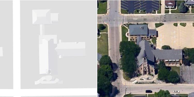 Estruturas no Google Maps parecem receber desenho em 3D.