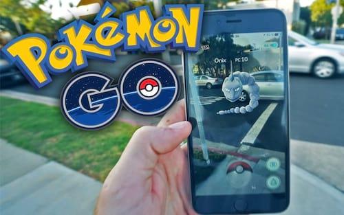 Sistema de captura de Pokémon Go  mais realista