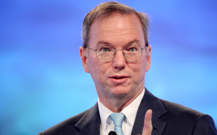 Eric Schmidt deixa a presidencia da Alphabet, matriz da Google