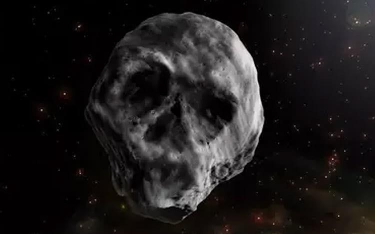 Cientistas acreditam que seja um cometa extinto.